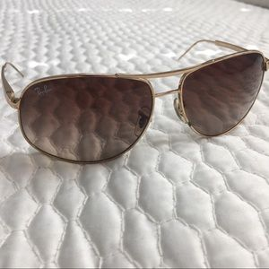 Ray-Ban RB 3387 Gold Aviator with Brown Lens